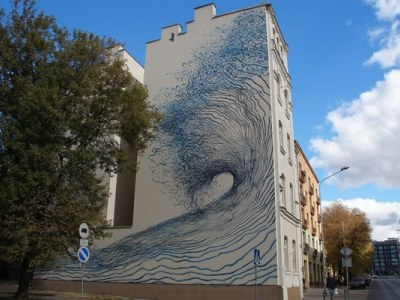 Mural - DALEAST (Chiny), 2015