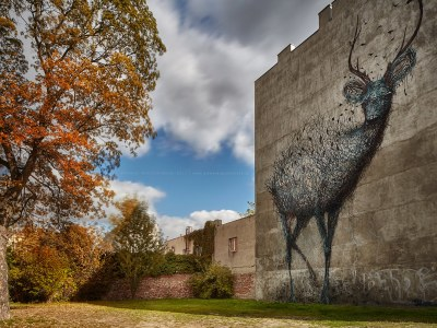 Mural - DALEAST (Chiny), 2014