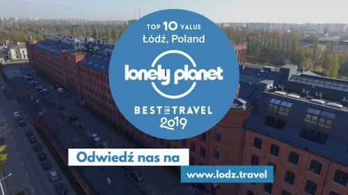 Łódź: TOP2 Lonely Planet Best Value Destination 2019
